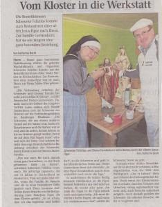 Sr. Felizitas Neue Presse